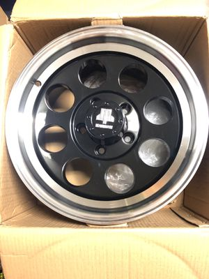 5 Jeep Mammoth 16x8 wheels for off-road for Sale in Visalia, CA