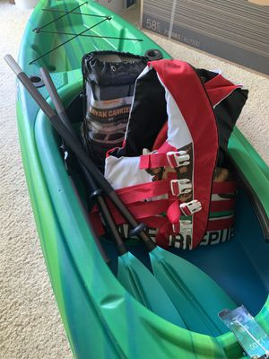 Kayak Almost New. And Kit too. for Sale in Concord, CA
