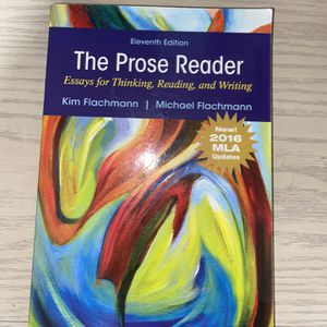 The Prose Reader Essays For Thinking , Reading About And Writing for Sale in Lynwood, CA