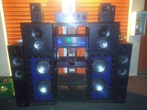"Stereo sistema subbufers 15"" 12"" for Sale in Phoenix, AZ"
