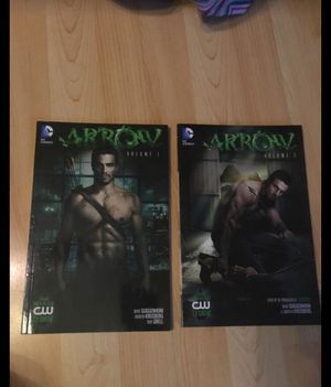 Arrow comic book volume 1 & 2 story's based off the TV show for Sale in Oakley, CA