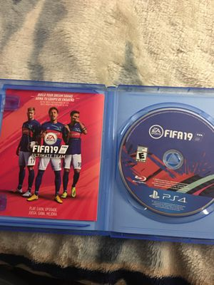 FIFA 19 - PS4 (fifa) for Sale in Spring Valley, CA