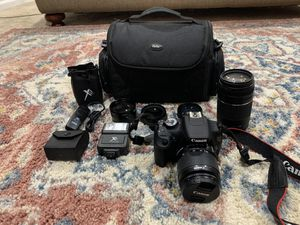 Canon EOS Rebel T5 for Sale in Gaithersburg, MD