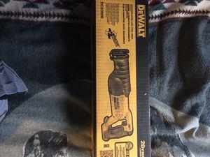 Dewalt reciprocating saw tool for Sale in Odessa, TX
