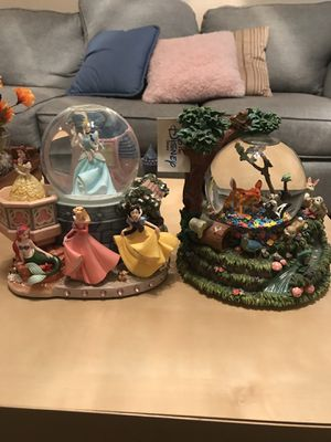 Disney snow globes for Sale in Austin, TX