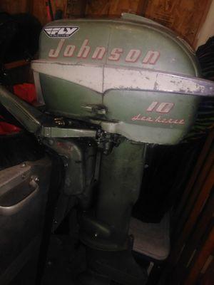 Johnson seahorse 10hp for Sale in Spokane, WA