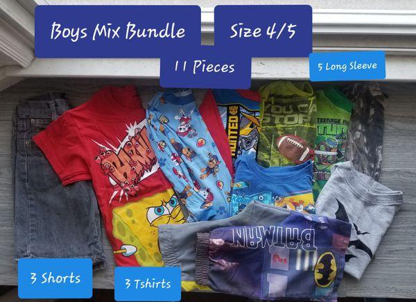 Boys Mix Bundle Size 4/5 (QTY11)
