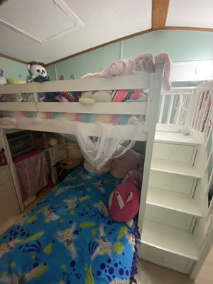 Bed with desk for Sale in Mount Crawford, VA
