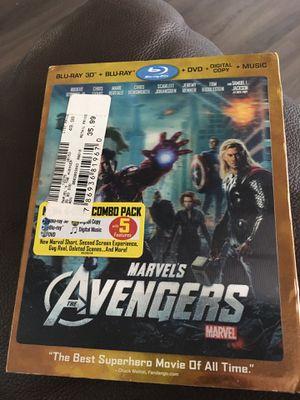 Marvels Avengers 3D/Blu-Ray/DVD/Digital Copy for Sale in Wahiawa, HI