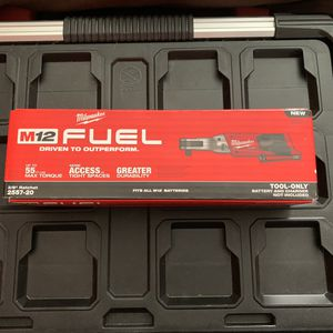 """New Milwaukee fuel brushless M12 3/8"""" ratchet for Sale in Haverhill, MA"""