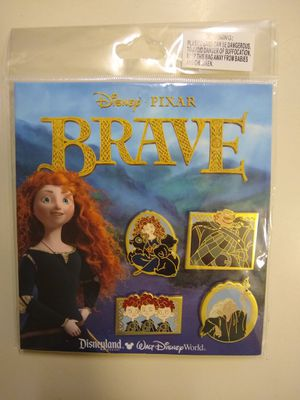 Official Disney Pixar Brave 4 Pins Set for Sale in Santa Ana, CA