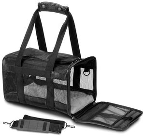 Sherpa Travel Original Deluxe Airline Approved Pet Carrier Black Small Kennel Cats Dogs for Sale in Orlando, FL