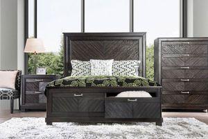 Queen Size Bedroom Set 4pc- Recamara Queen de 4pc @Elegant Furniture for Sale in Fresno, CA
