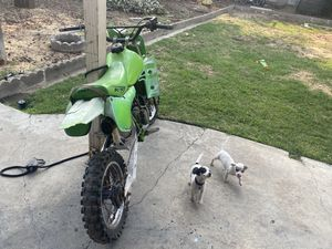 Used dirt bike my son outgrow it for Sale in Fresno, CA