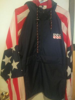 Vintage USA windbreaker size Large for Sale in Anaheim, CA
