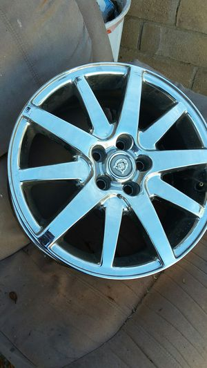 """17 inch 10 spoke chrome JaguarRims for Sale in Bonita, CA"