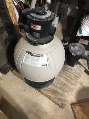 Hayward high rate sand filter pool pump E-series for Sale in Oregon City, OR