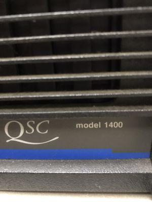 QSC 1400 Power Amp.. works great! for Sale in Spring Valley, CA