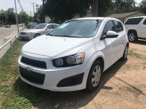 2013 Chevy SONIC LS WE IN HOUSE FINANCE for Sale in SAN ANTONIO, TX