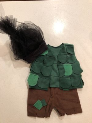 Trolls Costume: Branch 2T-3T for Sale in Everett, WA