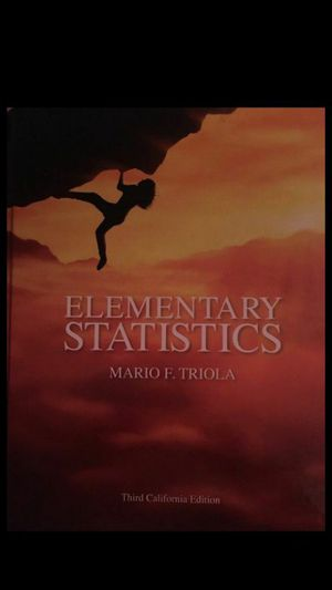 Elementary statistics for Sale in ROWLAND HGHTS, CA