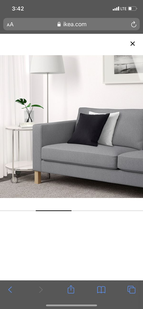 Karlstad Ikea Sofas X2 Plus Additional Sectional Hook On