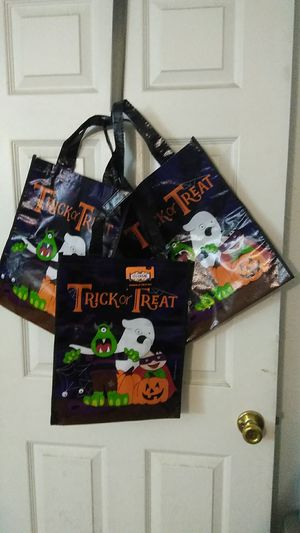 3 New Holloween candy bags. 2.00 each bag for Sale in Muscoy, CA