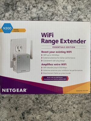 NETGEAR N300 WiFi Range Extender (EX2700-100PAS) for Sale in Middle River, MD