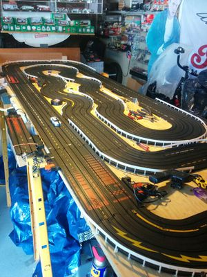 AFX. Custom 4 lane H. O. Racing set for Sale, used for sale  New York, NY