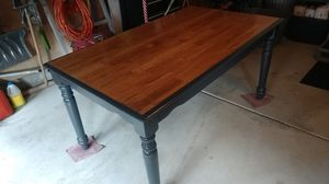 Solid Oak Dining Table for Sale in East Aurora, NY
