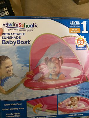 Baby float pink new in the box for Sale in Las Vegas, NV