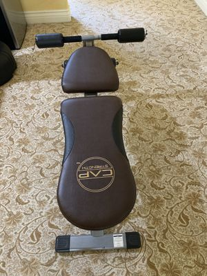 CAP Barbell Bench with Dumbbell Holder for Sale in San Marcos, CA