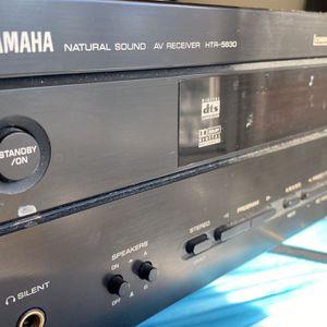 YAMAHA NATURAL SOUND AV RECEIVER HTR-5630 AMPLIFIER for Sale in Silver Spring, MD