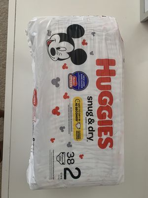 Huggies Snug & Dry Size 2 Diapers for Sale in Fontana, CA