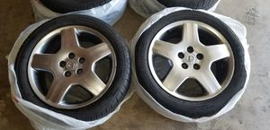 Stock Lexus rims on p245/45r18 Cooper tires (almost new tires) for Sale in Chico, CA