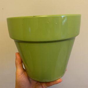 Light Green Plant Pot for Sale in Arlington, VA