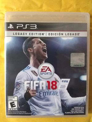 Fifa 18 Ps3 Brand New Sealed for Sale in Fresno, CA