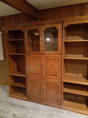 Entertainment Center-Bookshelves for Sale in North Little Rock, AR