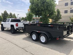 (BRAND NEW) 2020 - 8x12x2 Dump Trailer for Sale in Montclair, CA