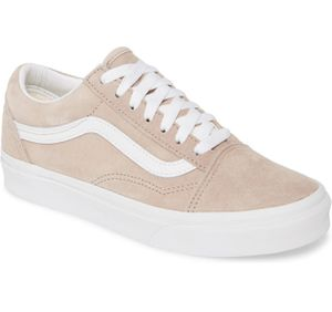 Women's VANS Old Skool Pink Suede Low Top Sneakers Size 5.5 for Sale in Lombard, IL