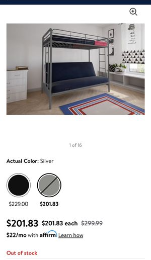 Futon bunk beds parts only for Sale in Corona, CA