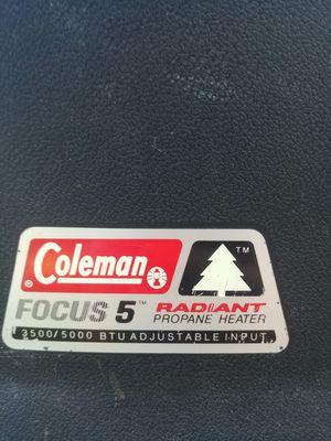 Coleman focus 5 for Sale in San Antonio, TX