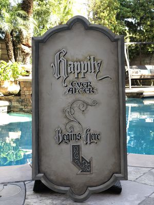 Happily ever after sign for Sale in HUNTINGTN BCH, CA