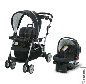 Gracco strollets with two car seat for Sale in Pembroke Park, FL