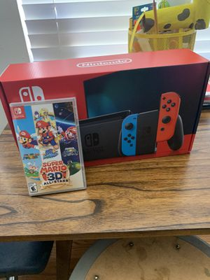 Brand new nintendo switch with super mario 3d for Sale in Moreno Valley, CA