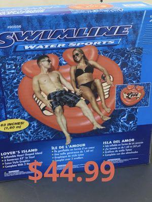Heart tattoo pool float island for Sale in Burbank, CA