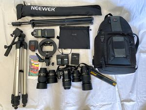 Nikon D5200 Bundle for Sale in Santee, CA