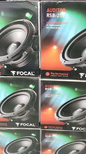 Focal 10 inch subwoofer for Sale in Chula Vista, CA