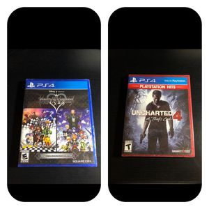 2 PlayStation 4 games factory sealed for Sale in Swansea, MA