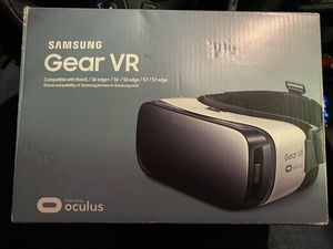 Samsung Gear VR Oculus SM-R322 Fits Galaxy Note 5/S6 Edge+/S6/S6 Edge/S7/S7 Edge for Sale in Lake Charles, LA